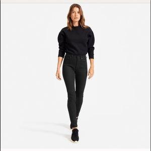 EVERLANE High-Rise Black Skinny Ankle Jean Size 29